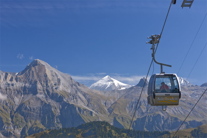 Adelboden cable car