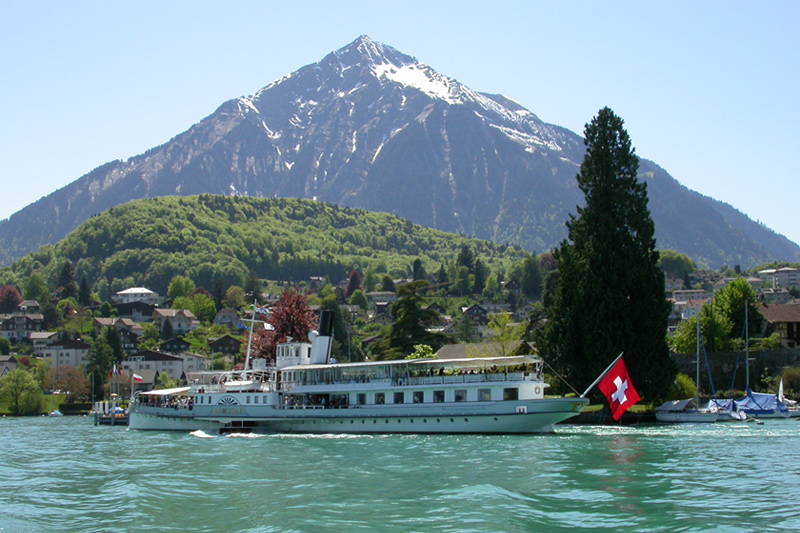 Mount Niesen and Lake Thun