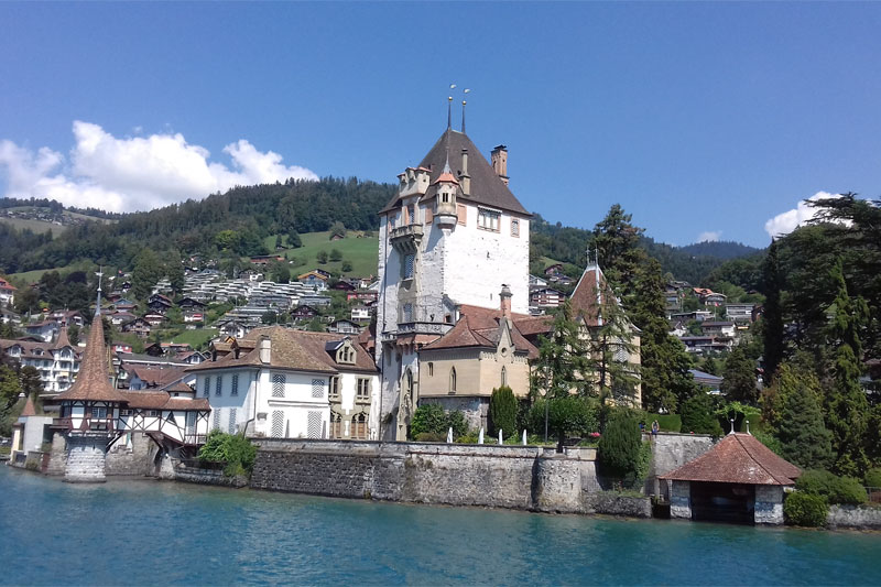 Lake Thun Castle