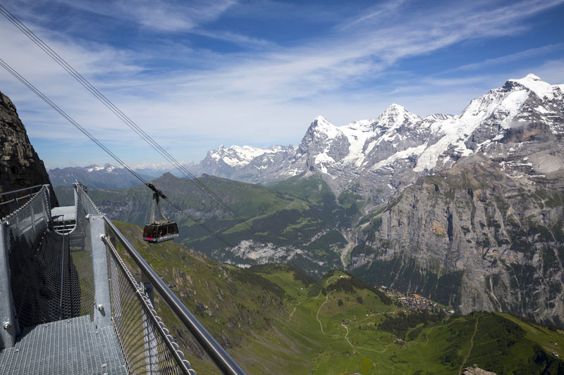 Thrill Walk at Birg (Schilthorn)