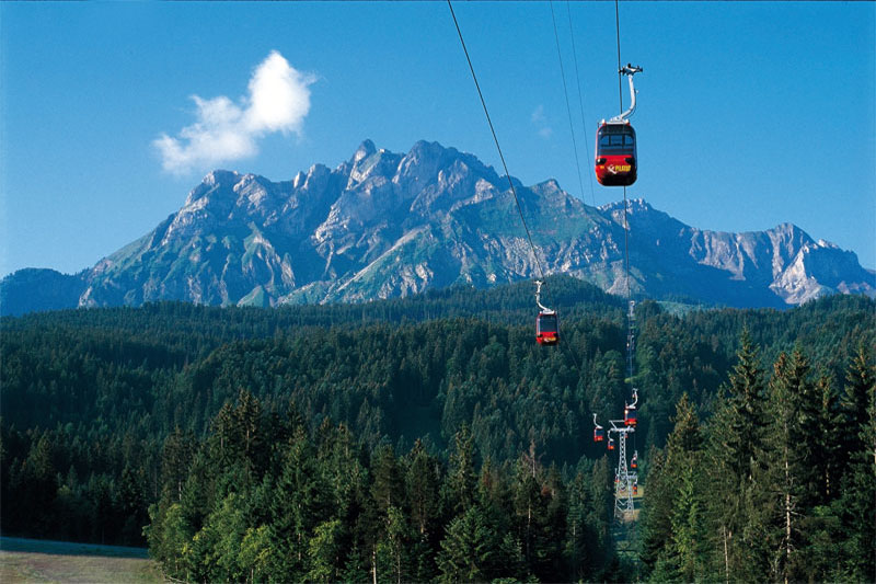 Gondola ride to Pilatus
