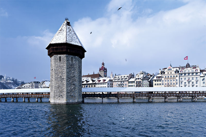 Lucerne in winter