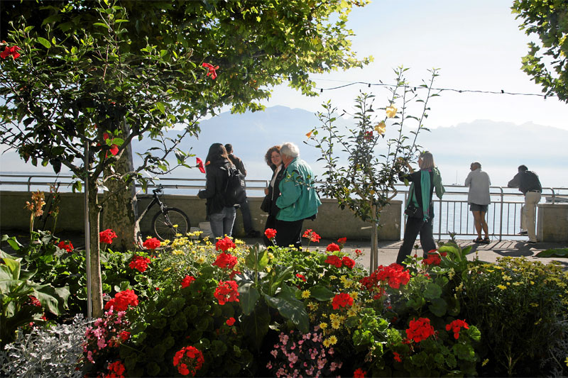 Vevey lakeside