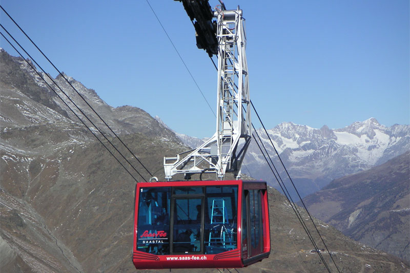 Felskinn cable car