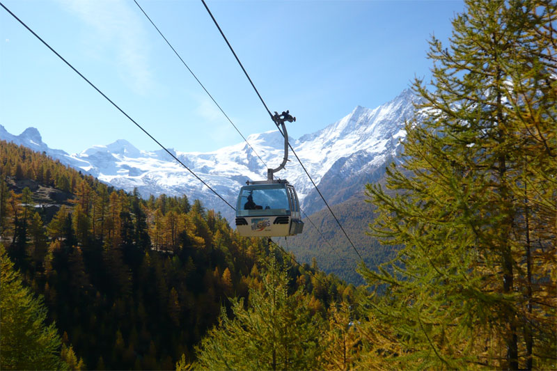 Cable car to Kreuzboden