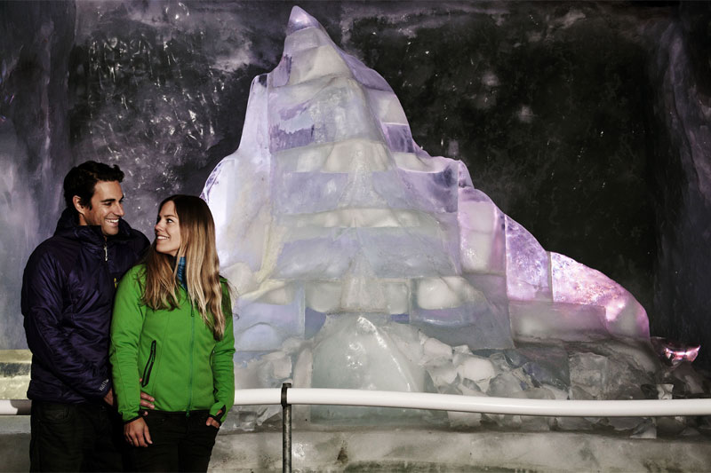 Visit the ice palace