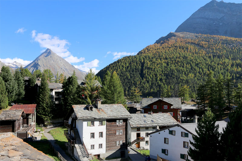 View over Zermatt