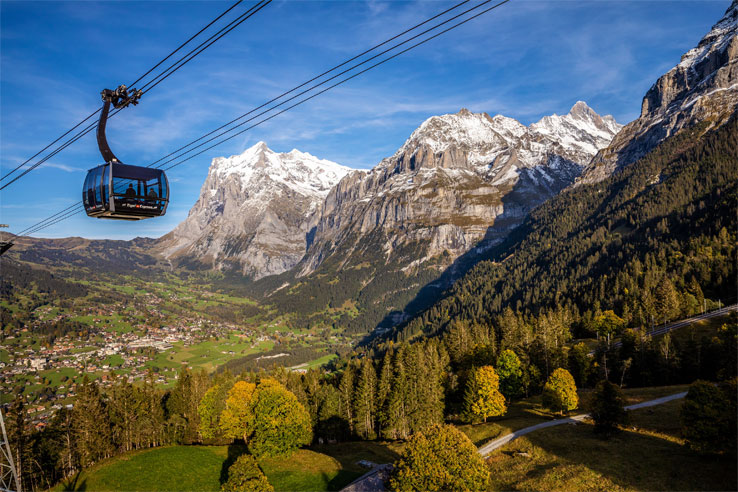The Eiger Express offers fantastic views