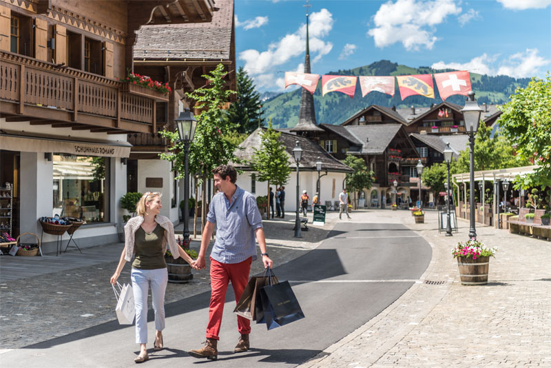 Shopping in Gstaad