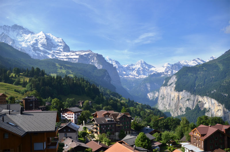 Wengen views