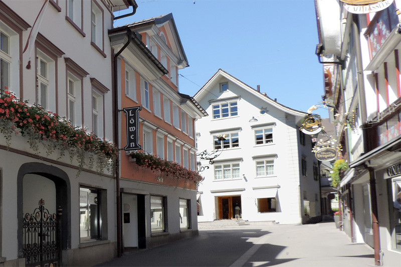 Hotel Löwen in the heart of Appenzell