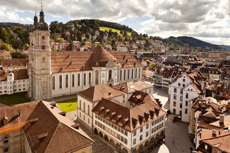St. Gallen's UNESCO World Heritage Site