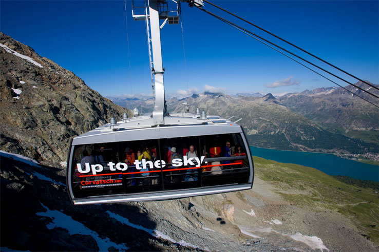 Corvatsch cable car