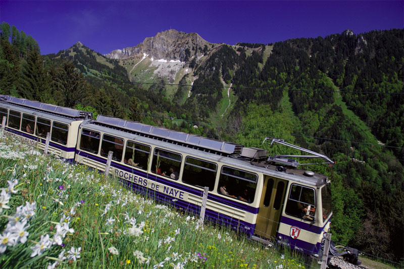 Train to Les Rochers-de-Naye