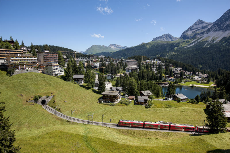 Arosa Line close to the resort