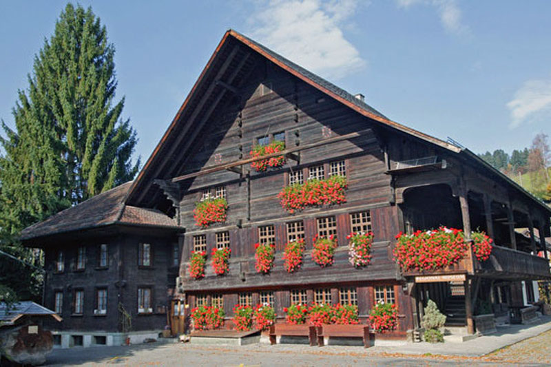 Typical Emmental house
