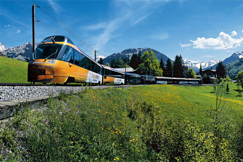 GoldenPass Line between Zweisimmen and Montreux