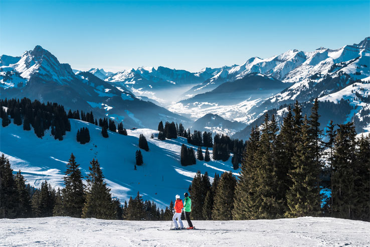 Saanersloch slopes, Gstaad