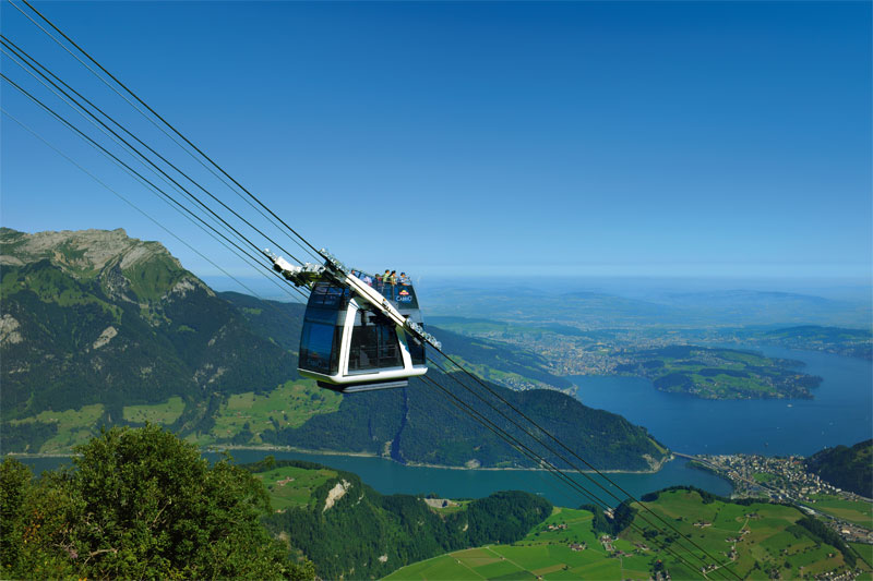 Stanserhorn CabriO cable car
