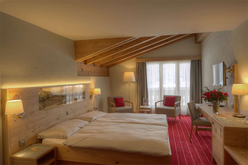 Sunstar Hotel Klosters, example of a bedroom