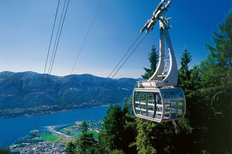 Cardada cable car