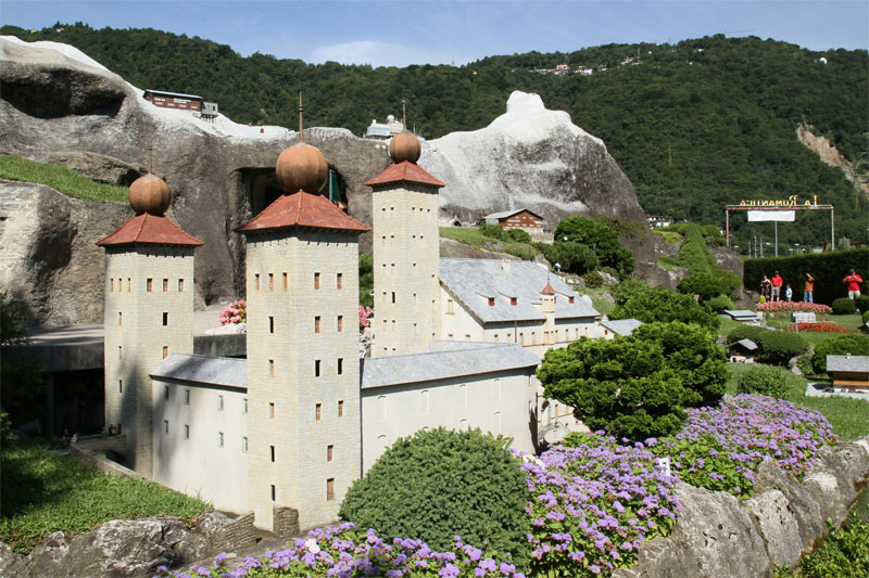 Swissminiatur - Stockalper's Palace in Brig